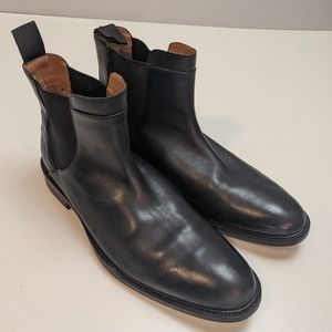Cole Haan Black Mens Boots Slip On 9.5